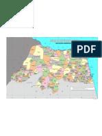 Mapa Politico Administrativo RN