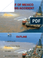 Gulf of Mexico Oil Rig Accident
