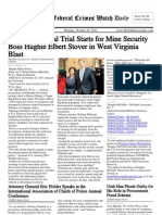 October 24, 2011 - The Federal Crimes Watch Daily