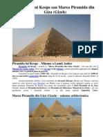 Piramida Lui Keops Kufu Miron - Paginat