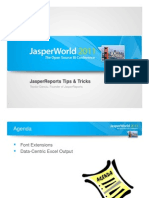 JW11 Jasper Reports Tips and Tricks TeodorDanciu 02