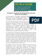 Press Kit - Dia Nacional de Protesto pela valorização do Médico e da Saúde Pública