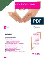 Baromètre de confiance des Français à l'égard des associations et fondations