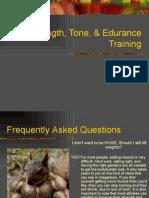 1- Strength Training