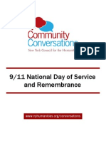 Community Conversations 9/11 Toolkit