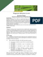 Diagnostic Referance Levels 03-12-2004