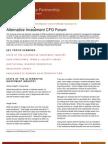 Plugin-2009 CFO Forum Exec Summ