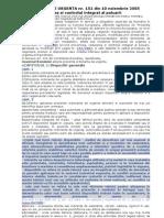 OU 152_2005 IPPS Controlul Integrat Al Poluarii