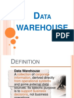Data Warehousing Present
