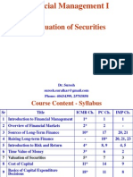 7. Valuation of Securities