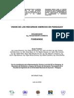 VISION DE LOS RECURSOS HIDRICOS EN PARAGUAY - PortalGuarani