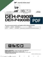 Pioneer DEH-P490IB_P4900IB (CRT3846) Receiver Audio Car