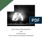 Oppenheimer and Slotin Study Guide-2