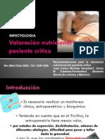Valoración nutricional en el paciente critico