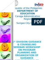 Guidance Seminar Workshop Nd Organization