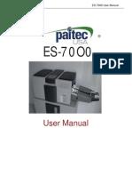 ES7000 User Manual