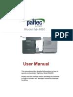 IM4000 User Manual