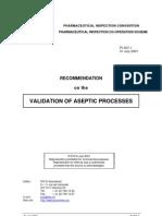 Aseptic Process Validation PICS