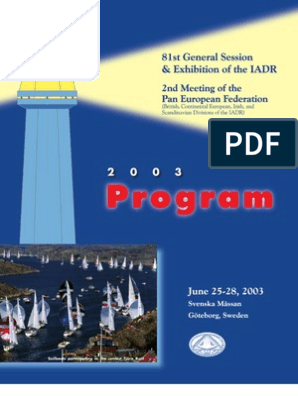 Program Book | Human Tooth | Tooth Enamel