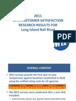 LIRR Customer Satisfaction