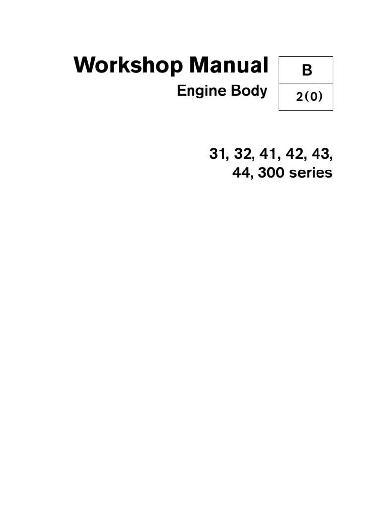 volvo kad engine body internal combustion engine piston rh scribd com Volvo Penta Parts Volvo Penta 275 Outdrive