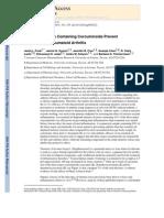 Turmeric Extracts Containing Curcuminoids Prevent