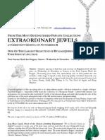 Christie's Geneva - Magnificent JEWELS - November 16 - Press Release