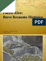 PR Breve Historia y Luchas Sociales