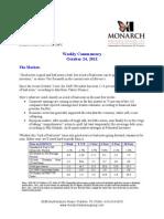 The Monarch Report 10-24-11