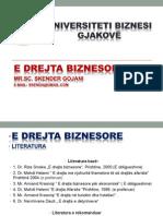 E Drejta Biznesore-Universiteti Biznesi Gjakovë