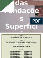Apresentação - Patologias das Fundações