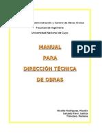 Manual Para La Direccion Tecnica de Obra