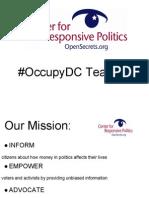 OccupyDC Teach In