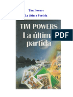 Tim Powers - La Última Partida