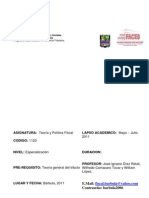 Teoria y Politica fIscal(2)