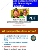 Governance and Management within Diversity in African Higher Education