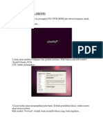 Cara Menginstal Ubuntu