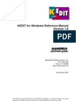 KEDIT Reference Manual
