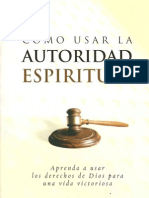 57560137 Como Usar La Autoridad Espiritual Charles Capps