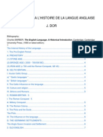 Syllabus Intro à l'Histoire de La Langue Anglaise