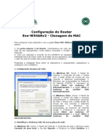 95_Configuracao Do Router Evo-W54ARv2 - Clonagem de MAC - PT