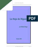 LA HOJA DE HIGUERA - Rafael Diogo Jara