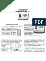 Termostat de Ambient Computherm Q7 - Program Are , Date Tehnice
