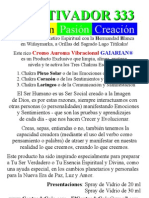 PODEROSO ACTIVADOR 333 GAIARIAN® Para Limpiar Cargar Alinear Energizar Activar y Sanar Los Chakras Chacras