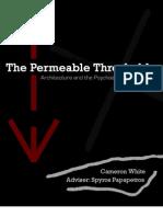 Cameron White - The Permeable Threshold