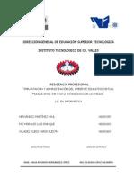 IMPLANTACIÓN Y ADMINISTRACIÓN DEL AMBIENTE EDUCATIVO VIRTUAL MOODLE EN EL INSTITUTO TECNOLÓGICO D