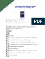 Livro_Reliability & Life Testing