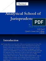 Analytical School of Jurisprudence