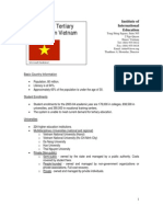 Tertiary Education in Vietnam