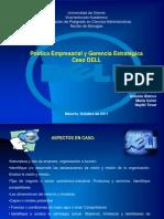 Presentación dell final 2001